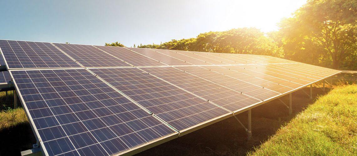 Geração compartilhada de energia solar